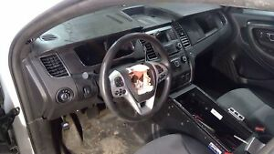 09 16 Ford Taurus Column Shift Steering Column With Wheel And Switches