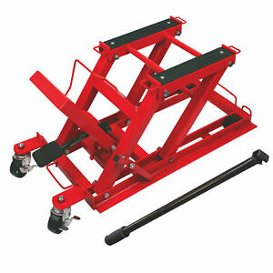 Torin Big Red 75 Ton 1500 Pound Capacity Motorcycle Atv Utv Equipment Jack Lift