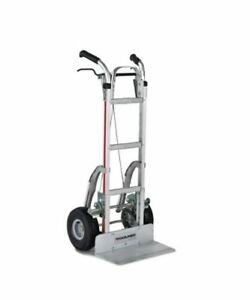Magliner Aluminum Braking Hand Truck 116 g2 1060 c5 brk With Stair Climber