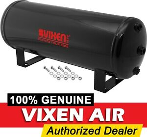 3 Gallon 7 Ports Steel Air Tank For Suspension air Ride bags train Horn Vxt3100
