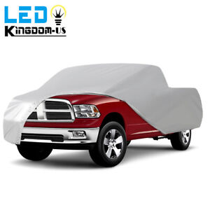 Full Truck Car Cover Tough Waterproof Sun Uv Rain Snow Dust Resistant Pickups