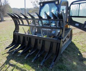 84 hd Talon Mtl Extreme Root Rake Grapple Attachment Skid Steer Bobcat ship 149