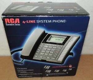 Rca 25413re3 New Visys 4 Line Business Phone Expandable Speaker