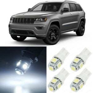 17 X White Interior Led Lights Package For 2011 2018 Jeep Grand Cherokee Tool