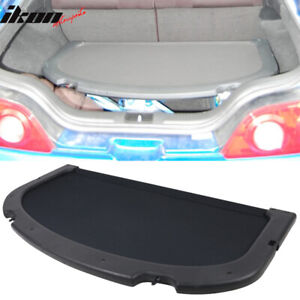 Fits 02 06 Acura Rsx Oe Style Black Trunk Privacy Luggage Cargo Cover