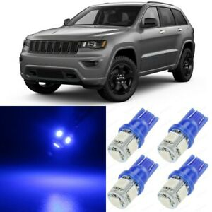 17 X Blue Interior Led Lights Package For 2011 2018 Jeep Grand Cherokee Tool