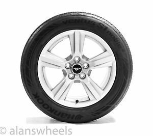 4 New Takeoff Ford Mustang 17 Factory Oem Silver Wheels Rims Tires Free Shipng