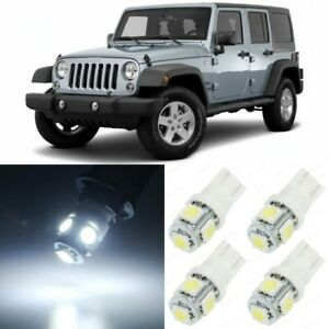 9 X Xenon White Interior Led Lights Package For 2007 2017 Jeep Wrangler Tool