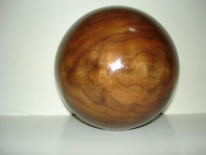Wood Ball Finial Unfinished For Newel Post Finial Or Cap 2