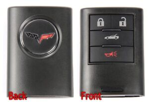 C6 Corvette 2008 2013 Keyless Entry Remote Key Fob 1