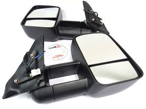 Clearview Towing Mirrors For Toyota Land Cruiser 100 Series And Lexus Lx470