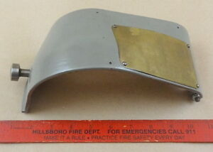 Very Nice Original South Bend 10 10l Metal Lathe Headstock Cone Cover Guard