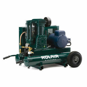 Rolair 9 Gallon 230v 5 Hp Electric Portable Air Compressor 5230k30cs New