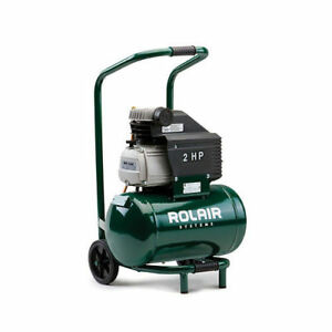 Rolair 5 3 Gallon 2 Hp Electric Hand Carry Air Compressor Fc2002hbp6 New