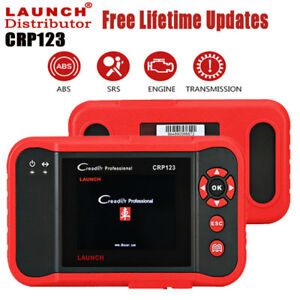 Us Free Ship Launch X431 Creader Crp123 Obd2 Diagnostic Tool Code Reader Abs Srs