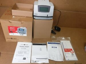 New Pyramid 3500 Multi purpose Time Clock And Document Stamp Made In The Usa