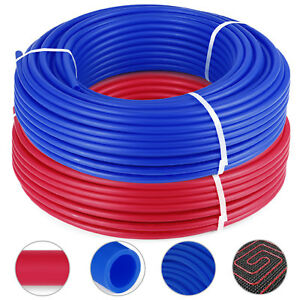 1 2 x300ft 2 Rolls Pex Tubing Oxygen Barrier Evoh Pex b Radiant Floor Heat Hq