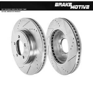 Front Brake Rotors For 2006 2007 2008 2010 Ford Explorer Mercury Mountaineer