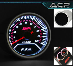 Engine Tach Revolution Per Min Rpm Gauge Autometer Integra Civic Prelude Eclipse
