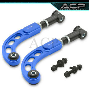 05 10 Scion Tc Performance Adjustable Front Rear Camber Bolt Kit Rod Bar Blue
