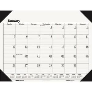 2018 Desk Pad Calendar 12month Ruled Office Schedule Appointment Planner 22w 17h