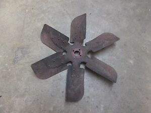 Farmall International 656 Tractor Diesel Fan Blade
