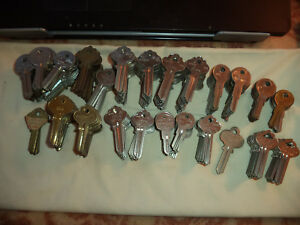 287 Nos in Key Blanks Ilco More Ilco Cole Taylor Curtis Star More