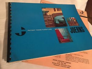 Joerns Patient Room Furniture Catalog Medical Equipment 1973