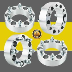 4pc Billet For Chevy Gmc 6x5 5 6x139 7 2 6 Lug Wheel Adapter Spacers Trucks