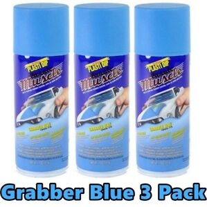 Performix Plasti Dip Muscle Car 11304 Grabber Blue 3 Pack Spray Can Kit