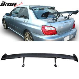 Universal Fits 63 Inch Single Deck Gt Style Trunk Spoiler Wing Abs
