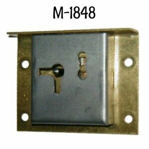 Half Mortise Lock Brass And Steel
