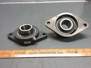 2 pack Of Browning Flange Bearing Vf2s 224 2 Bolt 1 1 2 Shaft