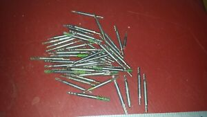 Lot Of 10 3 16 Shank Double End Mills Milling Machine Mill Drill Cut Cutters