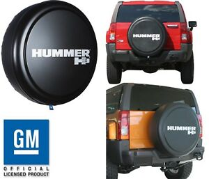 32 Rigid Hard Plastic Face Fabric Vinyl Band Hummer H3 Spare Tire Cover New