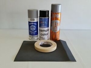 Auto Paint Spray Touch Up Kit For Restoration All You Need Car Paint Supplies