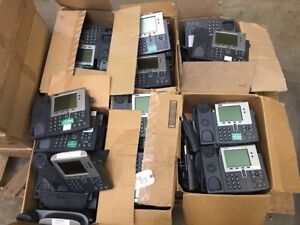 Cisco Systems Inc 7940 Series Unified Ip Business Phone lot Of 52