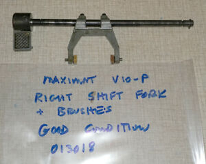 Emco Maximat V10 p Lathe Headstock Right Forks Assembly W Shoes