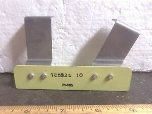 Aluminum Bracket With Stainless Steel Attachments P n 735323 10 nos