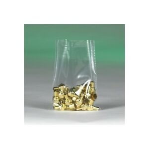 thornton s Flat 2 Mil Poly Bags 16 X 18 Clear 500