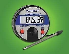 Vwr Full scale Thermometers 4152 Labware