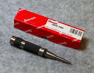 Starrett 5 Automatic Center Punch 18a New