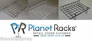 5 Planet Racks 24 X 15 Straight Shelves Gridwall slatwall pegboard 3 Colors