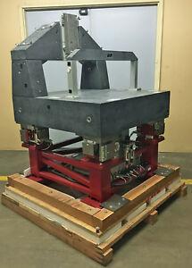 2006 Integrated Dynamics Active Vibration Isolation Table Tru stone Granite Slab