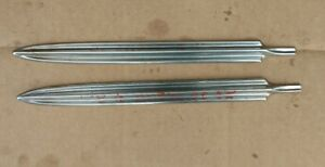 1960 Chevrolet Biscayne 4 Door Front Door Exterior Side Trim Molding Spear