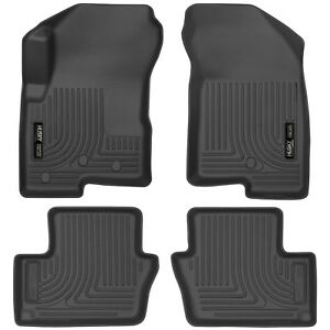Husky Weatherbeater Floor Mats For 07 17 Jeep Compass Patriot Front