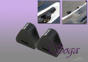 2 Pcs Bumper Tailgate Latch Rubber Stop For 99 06 Chevy Silverado Gm Sierra 1500