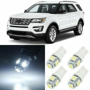 12 X Xenon White Interior Led Lights Package For 2011 2017 Ford Explorer Tool