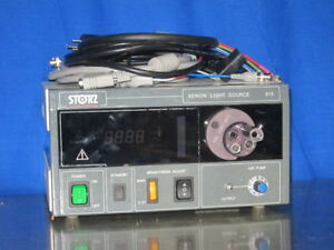 Karl Storz 615 Xenon Light Source With All Cables