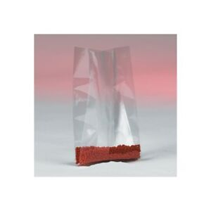 thornton s Gusseted 4 Mil Poly Bags 5 X 3 X 15 Clear 500